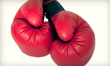 $19.99 for an Outdoor Boxing Event for Two with a Commemorative Photo at Mt. Carmel Society ($45 Value)