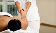 One or Three Chiropractic Exam and Massage Packages at Restoration Chiropractic (Up to 91% Off)
