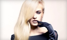Haircut with Option for Deep Conditioning, Partial Highlights, and Gloss at Great Scott Salon (Up to 72% Off)