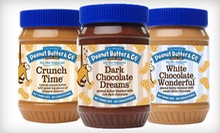 $12 for Four Jars of Peanut Butter at Peanut Butter &amp; Co. (Up to $24 Value)