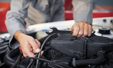 Oil Change with Tire Rotation, or Electrical and Drivability Diagnostic Test at Two Guys and a Garage (Up to 52% Off)