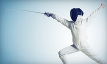 Five-Day Youth Beginner's Fencing Camp at Utah Swords Academy (52% Off). Six Options Available.