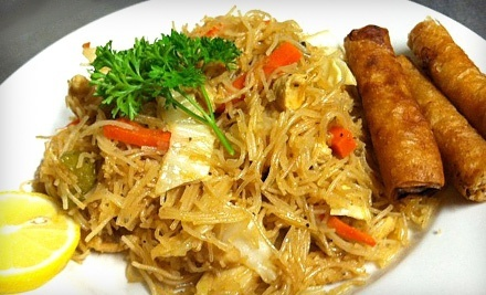 Filipino Cuisine at Lumpia House (50% Off). Two Options Available.