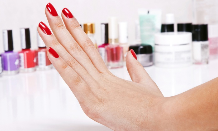Twilight Salon - Manchester: Gel Nails on Fingers or Toes from £9 at Twilight Salon (55% Off)