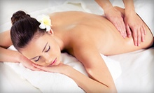 $30 for a 60-Minute Relaxation or Sports Massage at Pamper Me Spa ($60 Value)