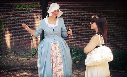 Franklin's Footsteps Historic Walking Tour for Two or Four from Philadelphia Trolley Works (Up to 54% Off)