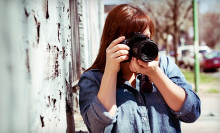 Intro Digital-Photography Workshop for One or Two from STL Photo Art (Up to 63% Off)