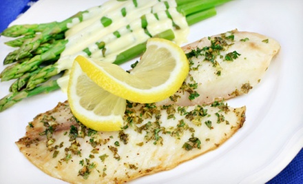 $15 for $30 Worth of Gourmet Seafood at Two Fish Bistro