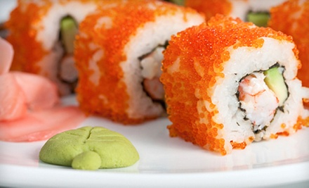 $10 for $20 Worth of Japanese Food at Sushi Sake Restaurant 