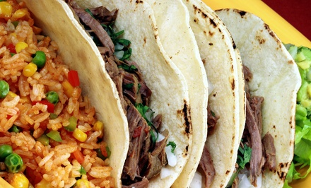 $11 for $20 Worth of Tex-Mex Food at Los Jimadores Tex-Mex Tequila Factory