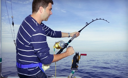 Four-Hour Fishing Trip with Rod, Reel, and Bait for One or Two from Starlight Fleet (Up to 51% Off)