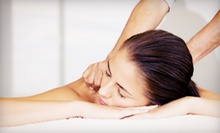 One or Three 60-Minute Massages at Queen Anne Nails (Up to 55% Off)