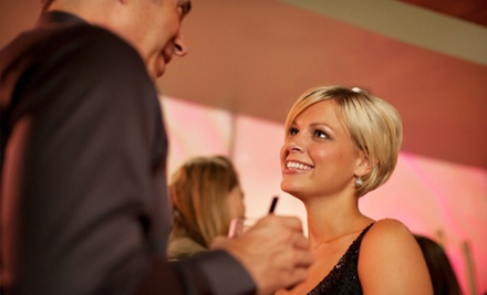 One or Three Speed-Dating Events, or a Simplify Me Matchmaking Package from SpeedDC Dating (Up to 60% Off)