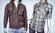 Trendy Apparel and Accessories for Men and Women at EDGE Apparel (Half Off). Two Options Available.