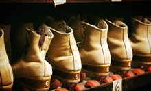 Roller-Skating with Skate Rental for One or for Two with Optional Pizza at Temple Hills Skating Palace (Up to 54% Off)