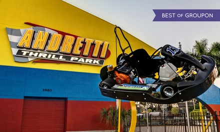 Three-Hour or All-Day Pass for One at Andretti Thrill Park (Up to 42% Off)