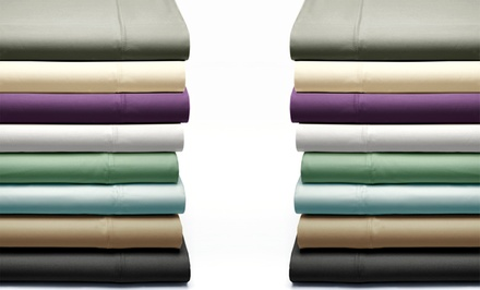 350-Thread-Count Grace Home Fashions Pima Cotton 6-Piece Sheet Set; Full to California King Sizes from $39.99–$49.99