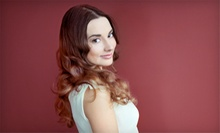 Haircut, Blow-Dry, and Style with Optional Partial or Full Highlights at Deva Hair Studio (Up to 65% Off)