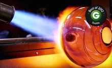 Introductory Glass-Blowing Class for One or Two at Redmond School of Glass (52% Off)