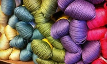 $20 for $40 Worth of Yarn, Knitting Supplies, and Clothing at Sealed With a Kiss