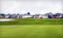 18-Hole Round of Golf for Two or Four with Cart and Range Balls at Fox Run Golf Club (Up to 51% Off) 