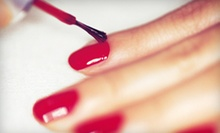 Shellac Manicure, Classic Pedicure, or Both at SoNu Massage and Day Spa (Up to 63% Off)