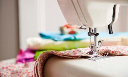 Workshop de iniciação à costura para uma ou duas pessoas desde 19,90€ na Verde Musgo (até 75% de desconto)