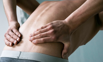 One or Three Deep-Tissue Laser Pain Therapy Treatments at Art of Health Chiropractic (Up to 70% Off)