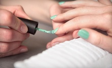 Shellac Manicure, Spa Pedicure, or Both at Bei Capelli Salon (Up to 57% Off)