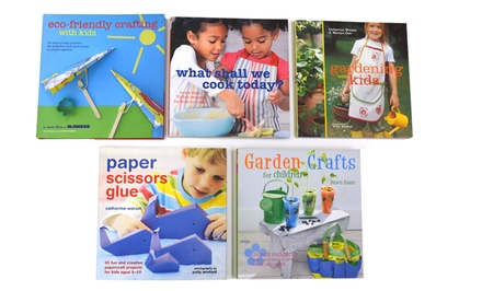 Busy Kids Bake, Craft & Garden 5 Book Bundle
