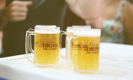 Admission to Drink the District Beer Fest on Saturday, July 26 (Up to 40% Off)