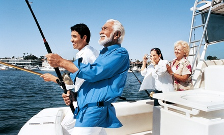 Half-Day Deep-Sea Fishing Trip for One, Two, or Four from Jumanji Attractions (Up to 41% Off)