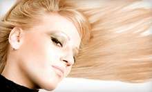 Deep-Conditioning-Treatment Package with Optional Partial Highlights at Cristian Belle Salon (Up to 59% Off)