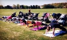 5 or 10 Mommy and Me Boot-Camp Classes at My Fit Mommy (Up to 67% Off)
