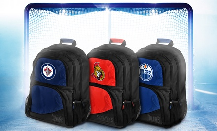 Officially Licensed NHL Backpacks with Team Logos