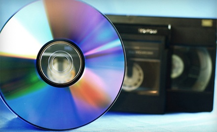 Three Videotape-to-DVD Transfers or 400 Photos Scanned to DVD at ScanDiego (Up to 67% Off)