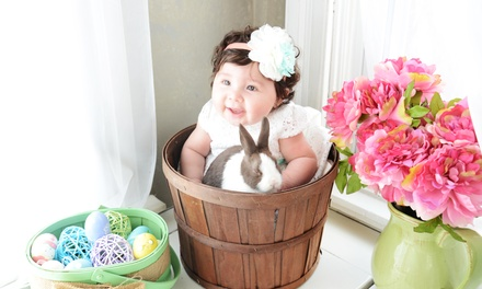 Baby-Animal Photo-Shoot Package with Prints and Optional Image DVD at Little Rascals Photography (Up to 79% Off)
