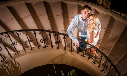 In-Studio or On-Location Engagement Shoot or Family Portrait Shoot from Cilento Photography (Up to 89% Off)