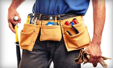 Two or Four Man-Hours of Handyman Services from Shoreline Builders (Up to 64% Off)
