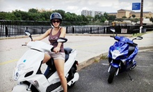 Three- or Eight-Hour Scooter Rental from Penn Scooters (Up to 53% Off)