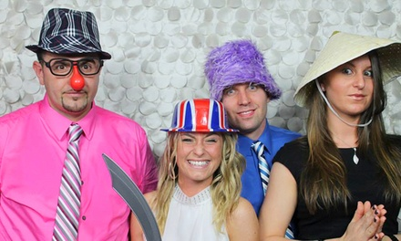 Three- or Four-Hour Photo Booth Rental from The iLOVE Team (50% Off)