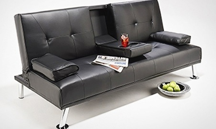 Groupon Goods Global GmbH: 'Cinema' Sofa Bed in Choice of Colour for £139 With Free Delivery (65% Off)