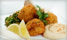 $10 for $20 Worth of Mediterranean Cuisine at Cedars Mediterranean Mezza & Grill