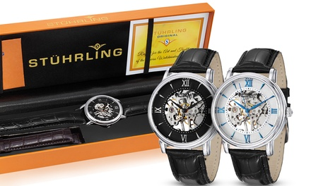 Stührling Original Men's Mechanical Legacy Watch Collection