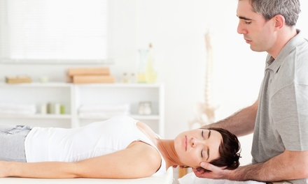 Chiropractic Package with Massage and Adjustments, or 60-Minute Massage at Max Life Chiropractic (Up to 82% Off)