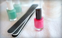 One or Three Mani-Pedis at Signature Spa (Up to 56% Off)