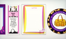 Personalized Stationery and Gifts from The PaperDoll Store (Up to 51% Off). Two Options Available.