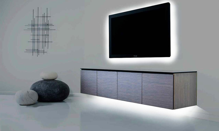 rouleau led avec t l commande groupon shopping. Black Bedroom Furniture Sets. Home Design Ideas