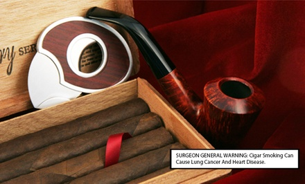 Philadelphia: Cigars and Smoking Accessories from BnB Tobacco (Up to 51% Off). Two Options Available.