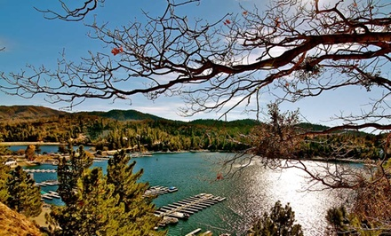 groupon daily deal - 2- or 3-Night Stay for Up to 8–10 at Arrowhead Retreats in Lake Arrowhead, CA.